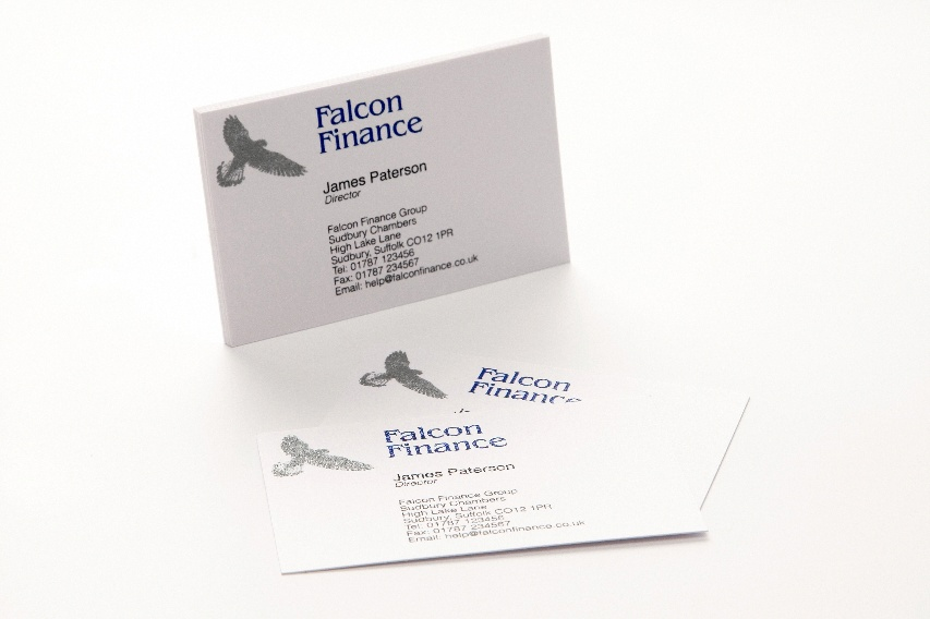 Raised printed business cards qty 250 starting from 5500 blue silver printed business cards colourmoves