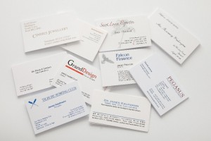 Business card design tips thermofast printing business card design tips reheart Choice Image