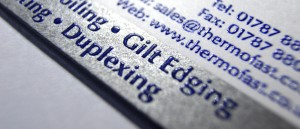 Letterpress, Thermography & letter bash printing..!!