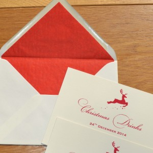 Personal Stationery for Christmas (just about)